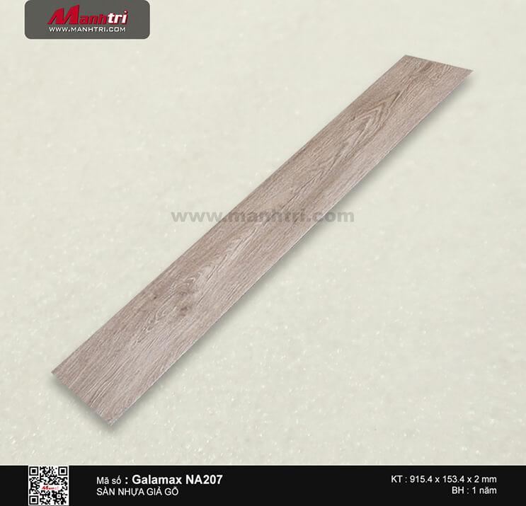 Sàn nhựa giả gỗ Galamax NA207