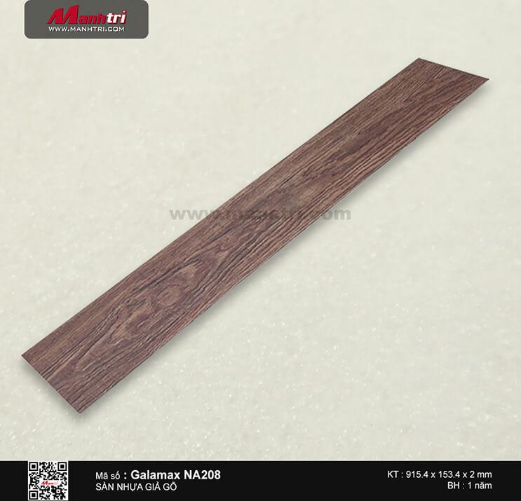 Sàn nhựa giả gỗ Galamax NA208