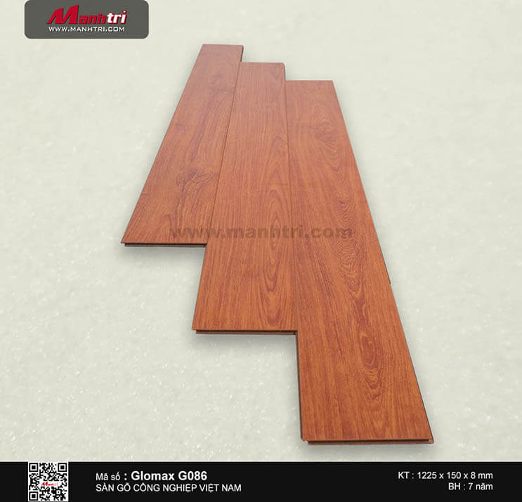 Sàn gỗ công nghiệp Glomax G086