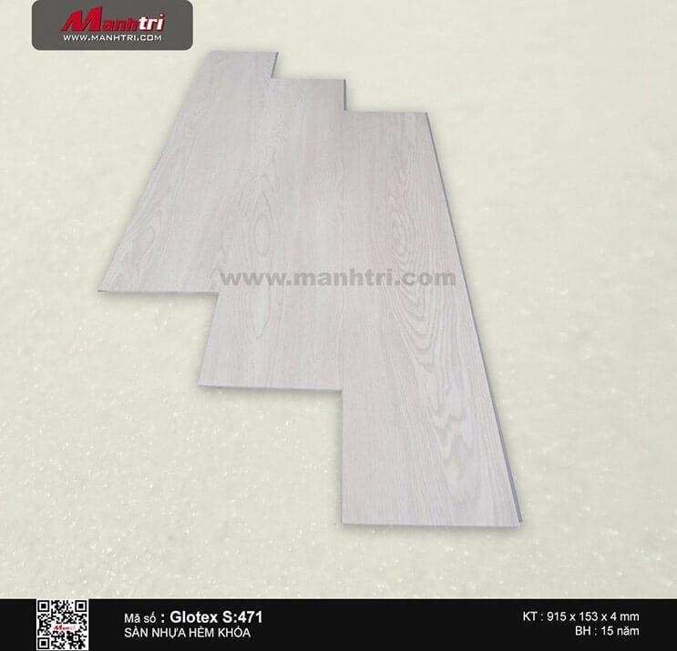 Sàn nhựa hèm khóa Glotex S:471