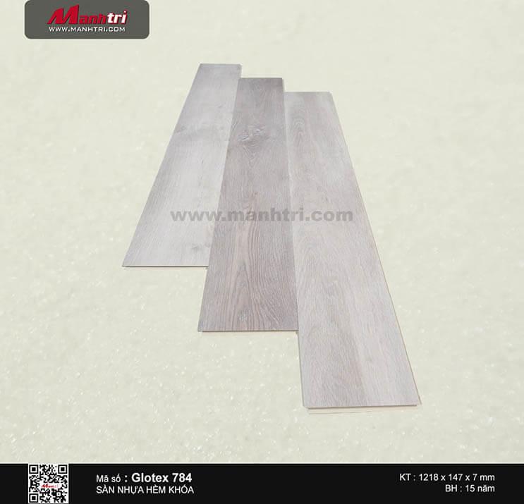 Sàn nhựa hèm khóa Glotex 784