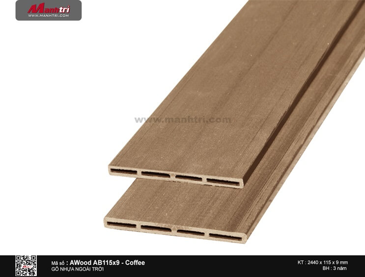 Ốp trần Awood AB115X9-Coffee
