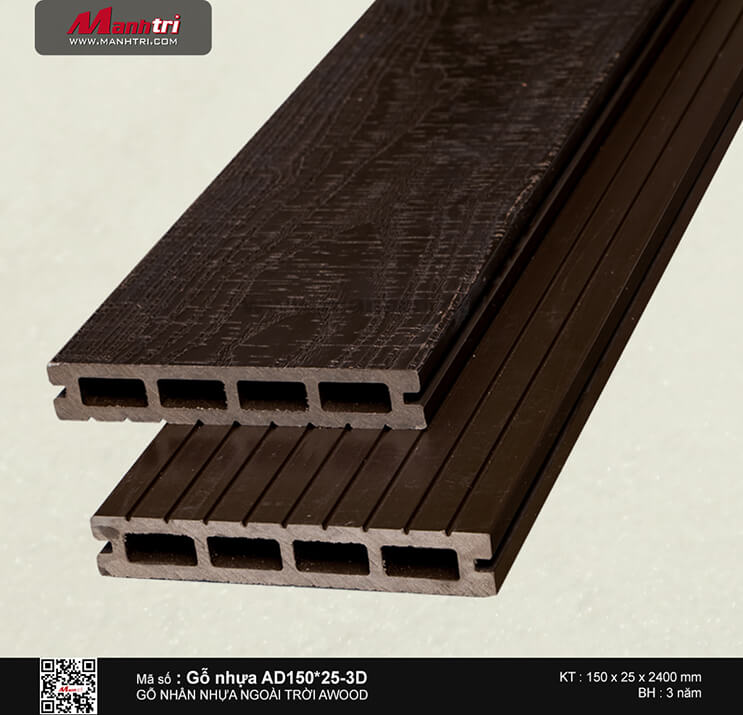 Sàn gỗ Awood AD150x25-3D