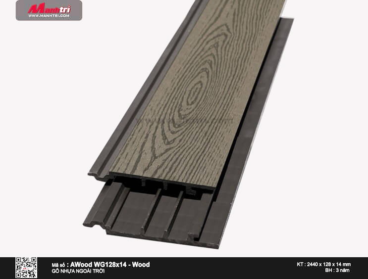 Ốp trần Awood WG128x14-Wood