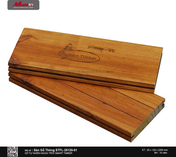 Sàn gỗ thông STFL-25120-01