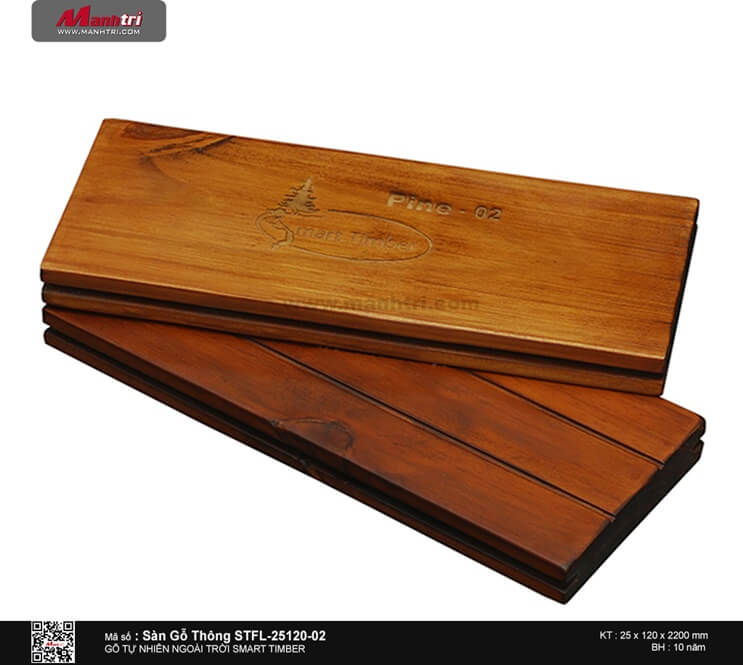 Sàn gỗ thông STFL-25120-02