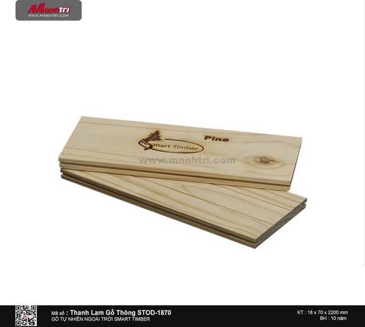 Thanh lam gỗ thông STOD-1870