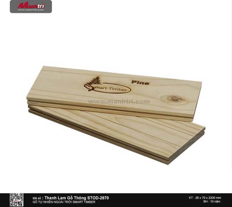 Thanh lam gỗ thông STOD-2870