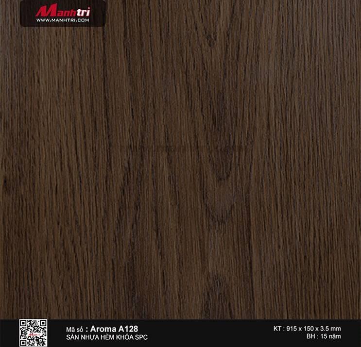 Sàn nhựa hèm khóa Aroma SPC A128