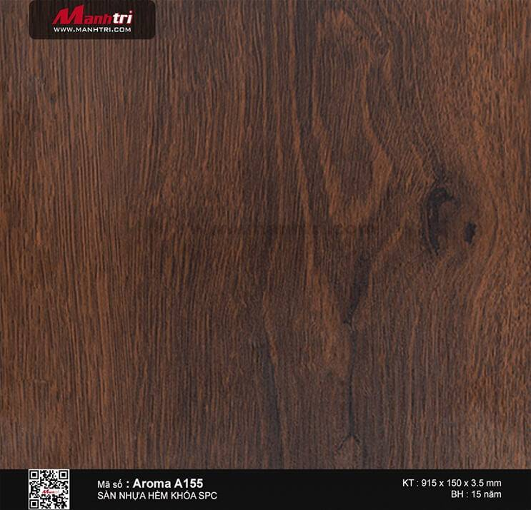 Sàn nhựa hèm khóa Aroma SPC A155