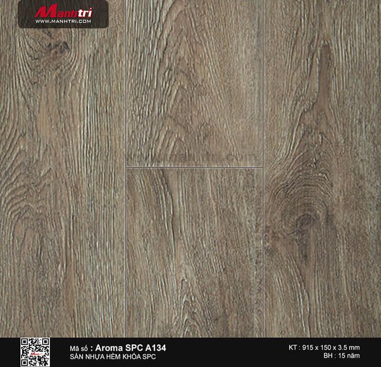 Sàn nhựa hèm khóa Aroma SPC A134