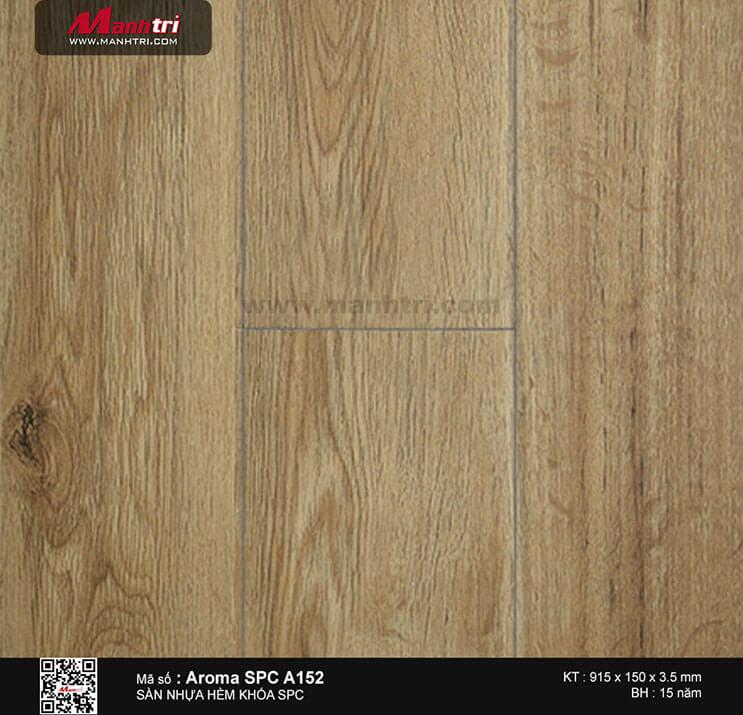 Sàn nhựa hèm khóa Aroma SPC A152