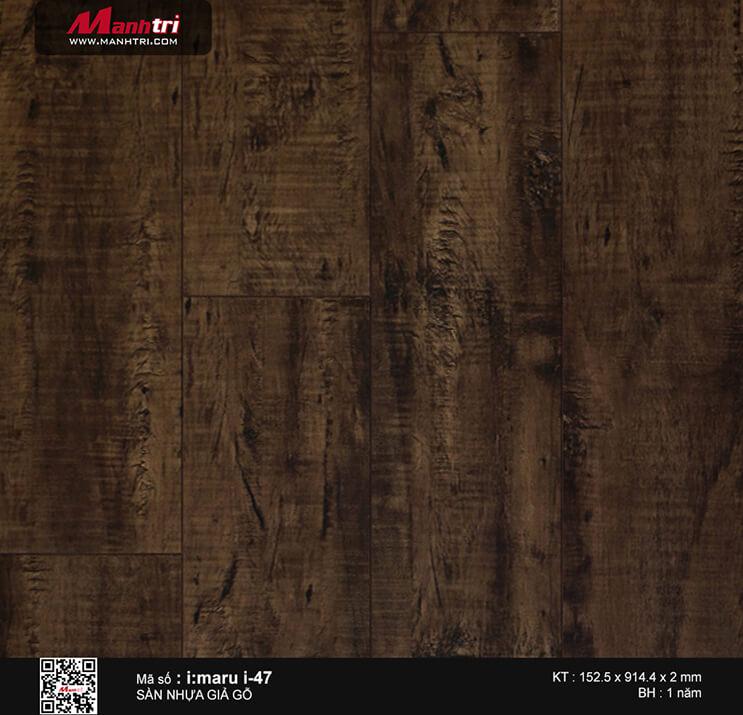 Sàn nhựa giả gỗ i:maru i-47
