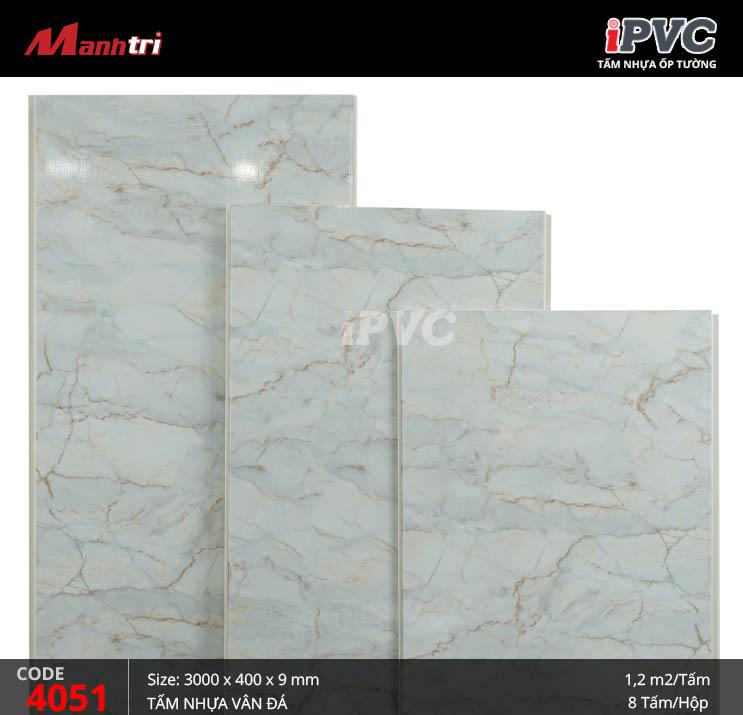 Tấm nhựa iPVC vân đá 4051
