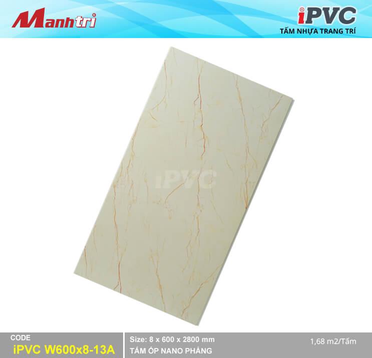 Tấm Nhựa IPVC Vân Đá W600x8-13A