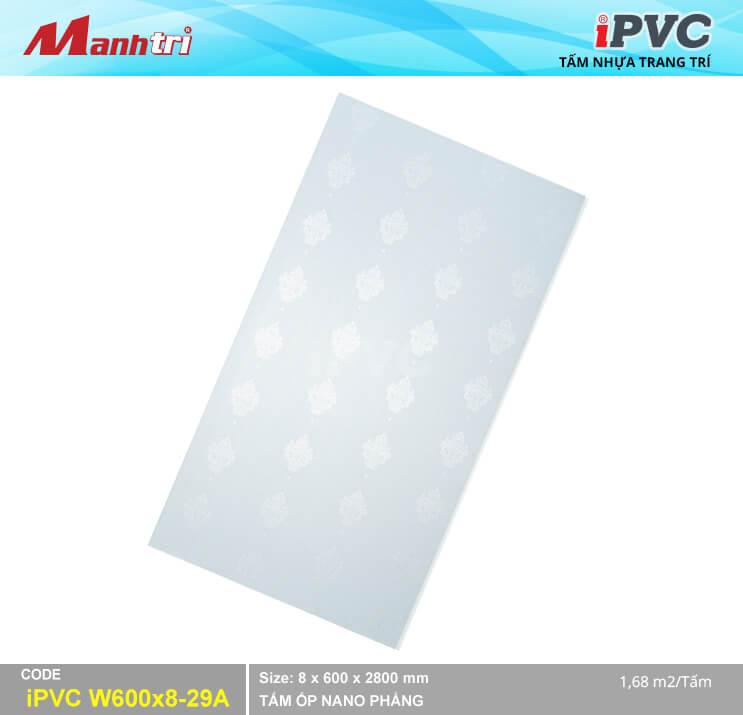 Tấm Nhựa IPVC Hoa Văn W600x8-29A