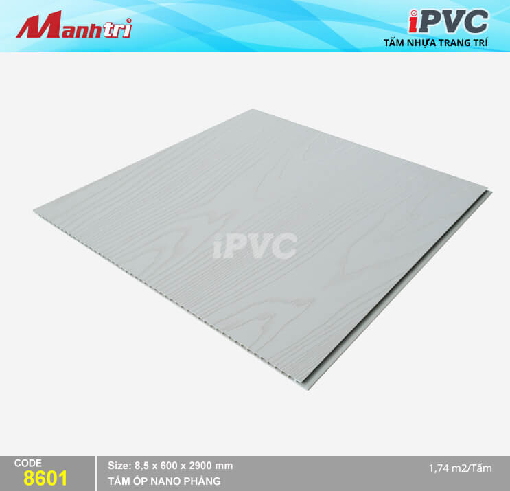 Tấm Nhựa iPVC Vân Gỗ 8601