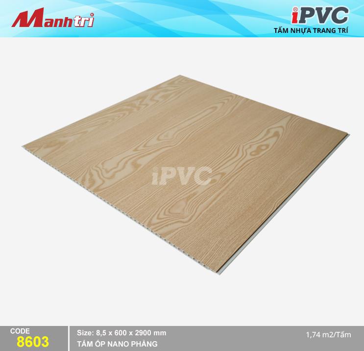 Tấm Nhựa iPVC Vân Gỗ 8603