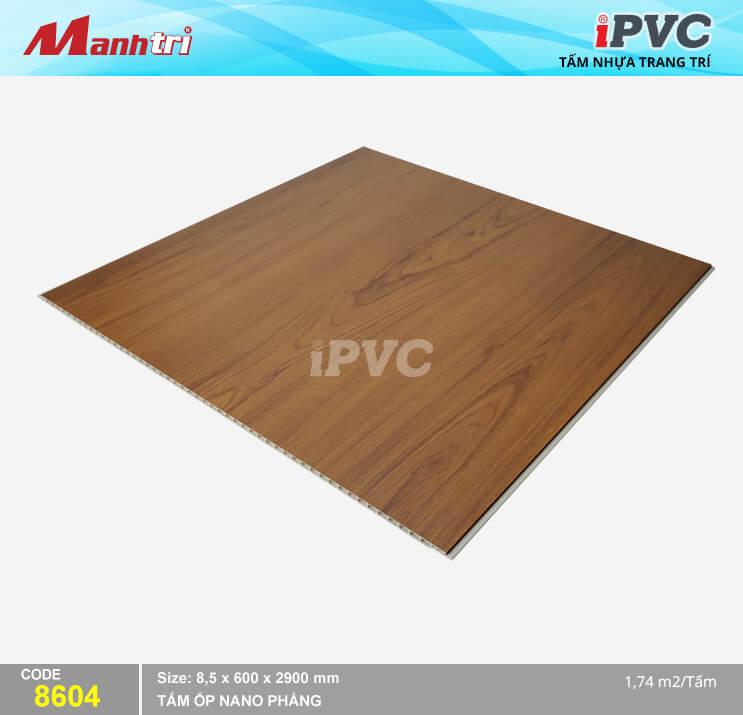 Tấm Nhựa iPVC Vân Gỗ 8604