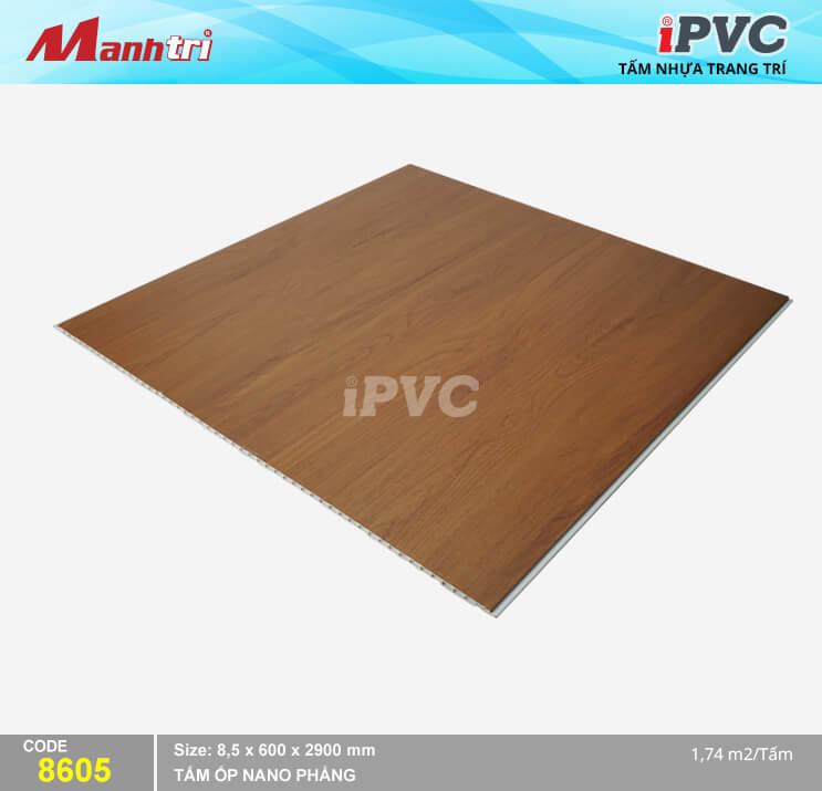Tấm Nhựa iPVC Vân Gỗ 8605