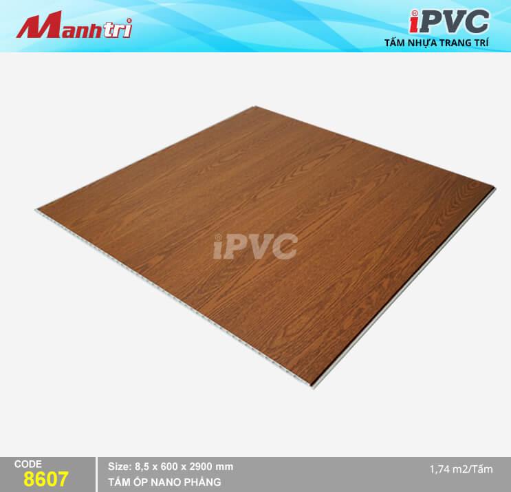 Tấm Nhựa iPVC Vân Gỗ 8607