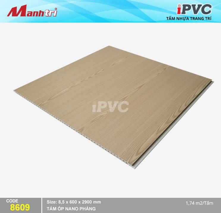 Tấm Nhựa iPVC Vân Gỗ 8609