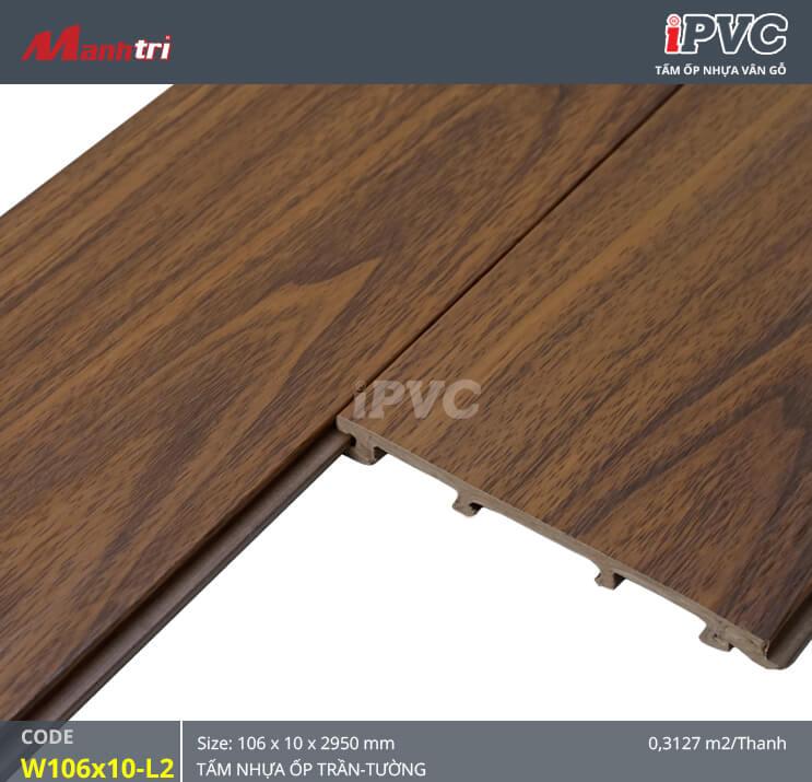 iPVC W106x10-L2 ốp trần, tường