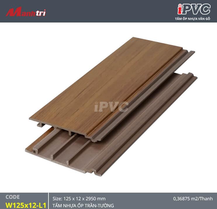 iPVC W125x12-L1 ốp trần, tường