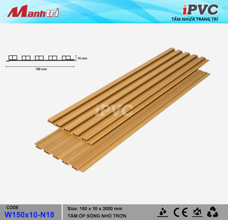 iPVC W150x10-N18 Ốp Trần, Tường