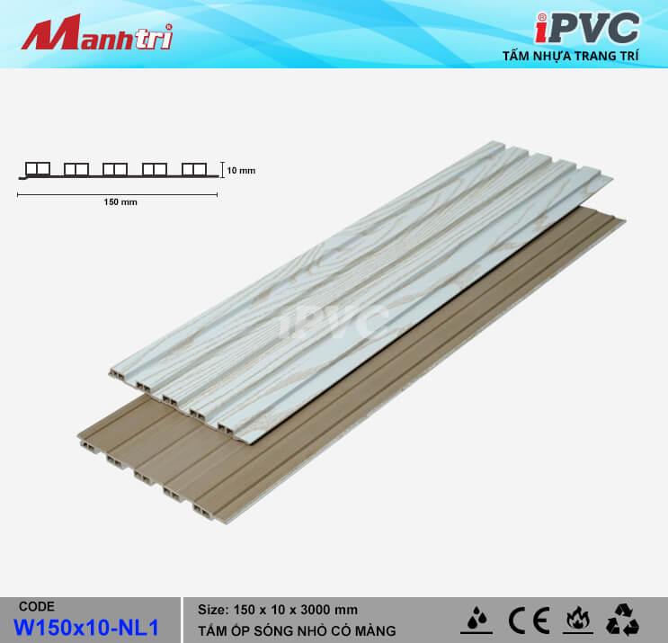 iPVC W150x10-NL1 Ốp Trần, Tường