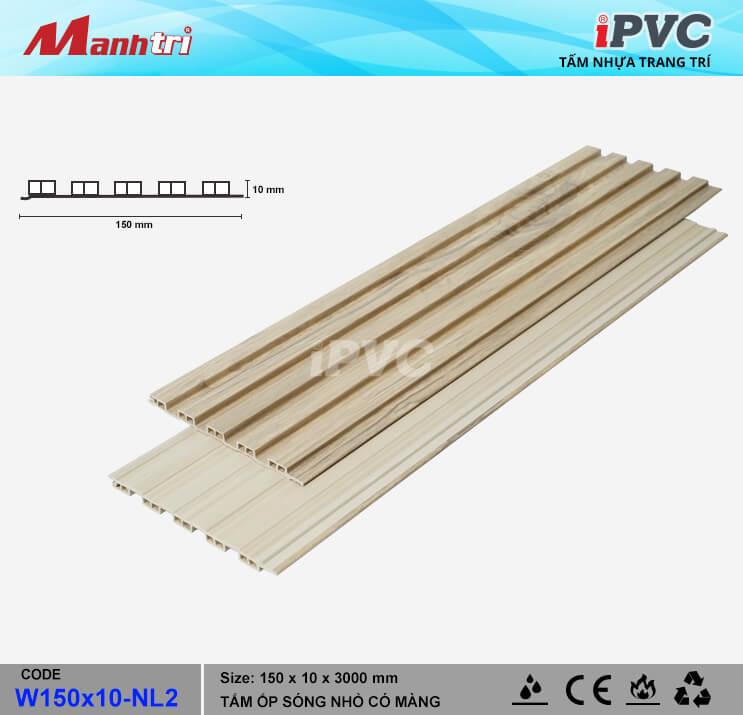 iPVC W150x10-NL2 Ốp Trần, Tường