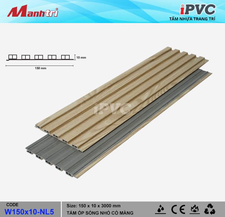 iPVC W150x10-NL5 Ốp Trần, Tường