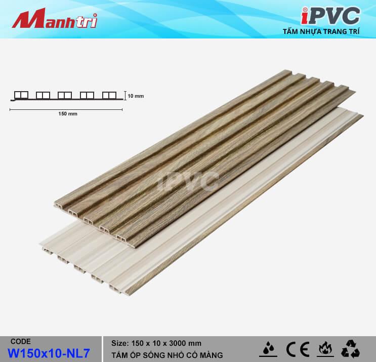iPVC W150x10-NL7 Ốp Trần, Tường