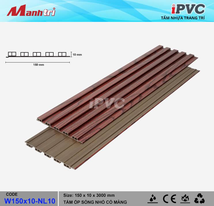 iPVC W150x10-NL10 Ốp Trần, Tường
