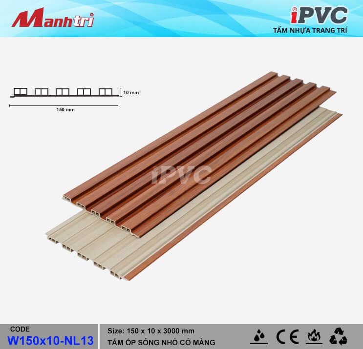 iPVC W150x10-NL13 Ốp Trần, Tường