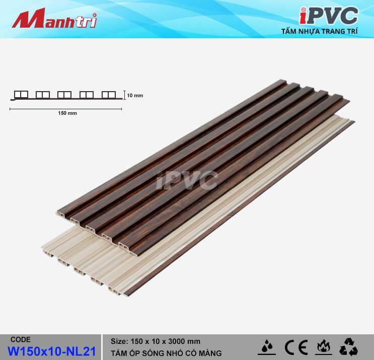 iPVC W150x10-NL21 Ốp Trần, Tường