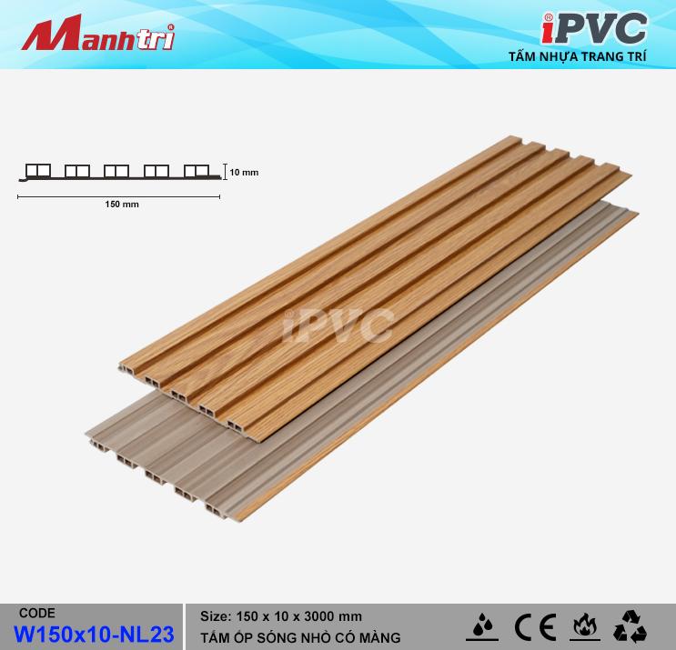 iPVC W150x10-NL23 Ốp Trần, Tường