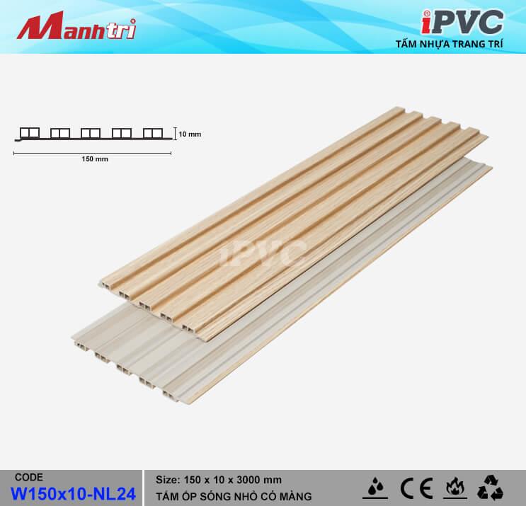 iPVC W150x10-NL24 Ốp Trần, Tường