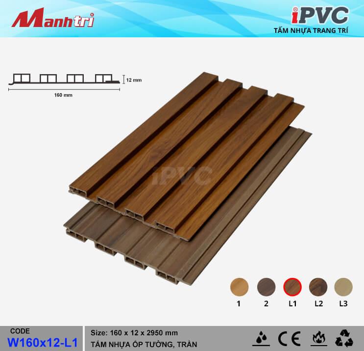 iPVC W160x12-L1 ốp trần, tường