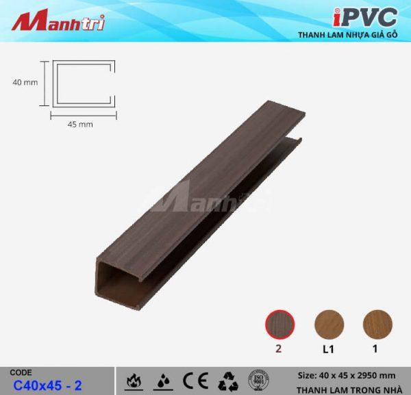 iPVCC40x45-2 Thanh Lam Gỗ