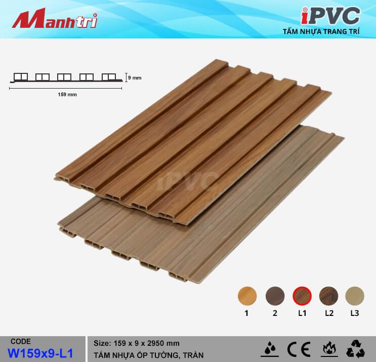 iPVC W159x9-L1 ốp trần, tường