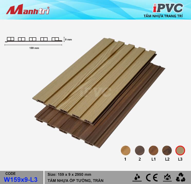 iPVC W159x9-L3 ốp trần, tường