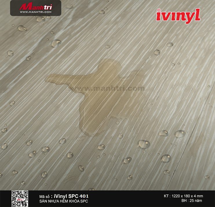 Sàn nhựa iVinyl SPC 401