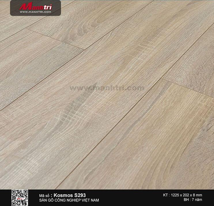 Sàn gỗ công nghiệp Kosmos S293