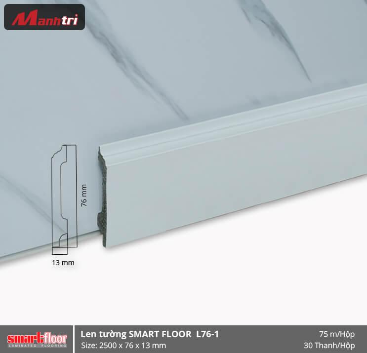 Len chân tường nhựa giả gỗ L76-1