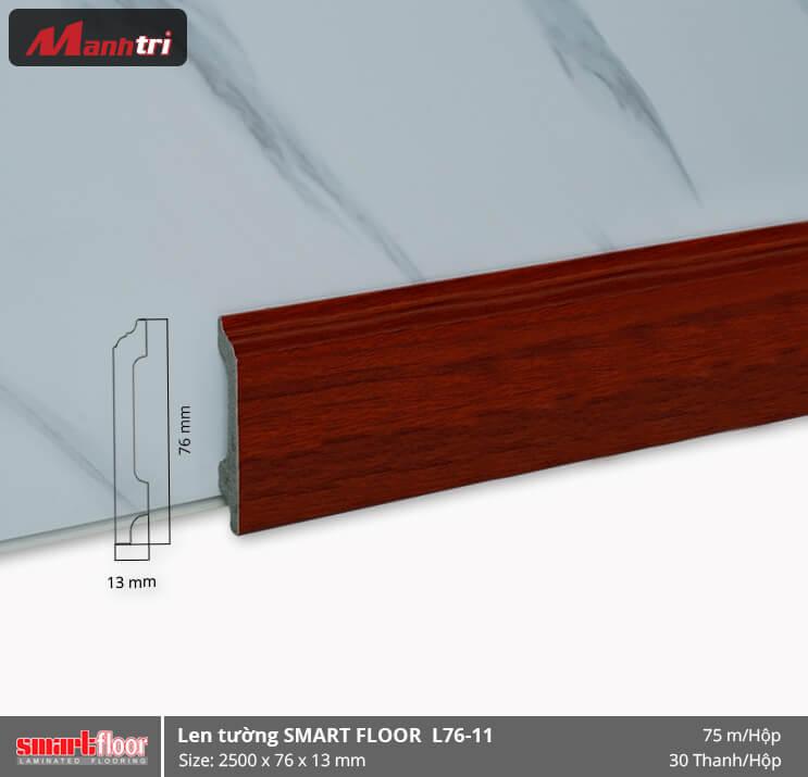 Len chân tường nhựa giả gỗ L76-11