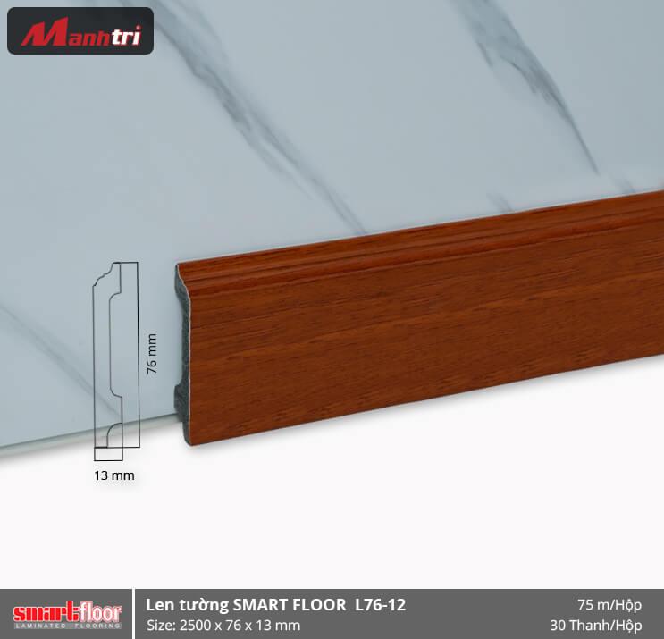 Len chân tường nhựa giả gỗ L76-12