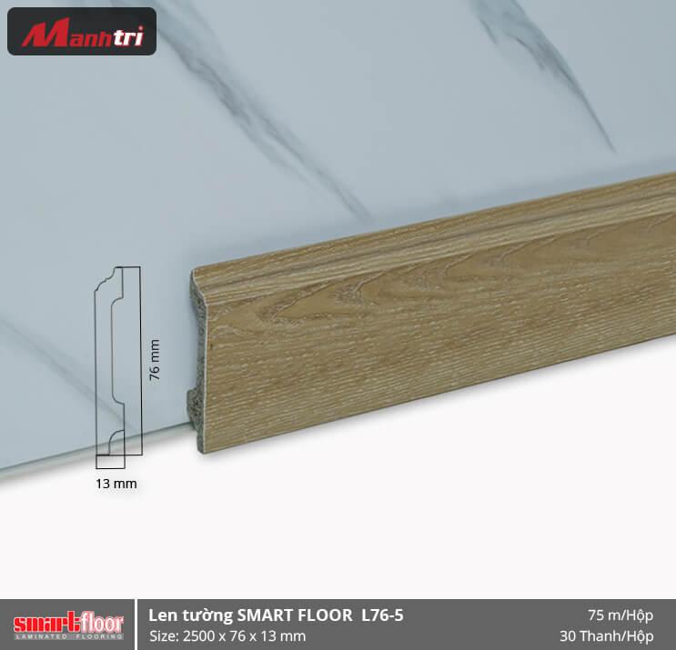 Len chân tường nhựa giả gỗ L76-5