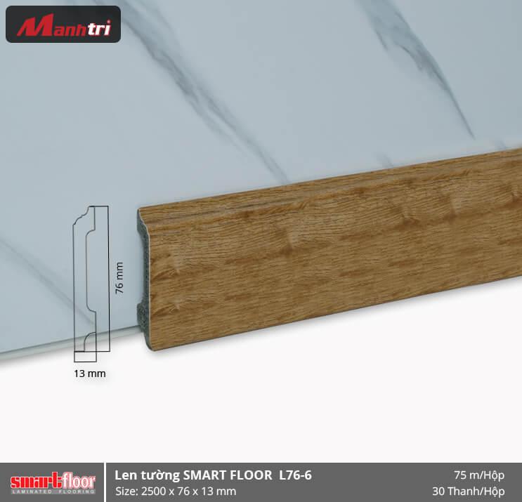 Len chân tường nhựa giả gỗ L76-6