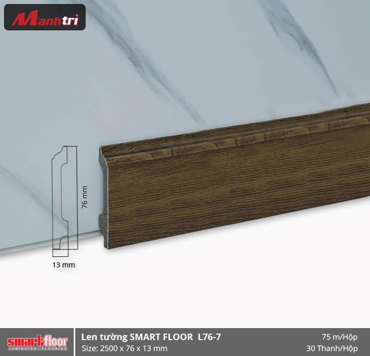 Len chân tường nhựa giả gỗ L76-7